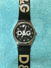 D&G Dolce & Gabbana Watch Plastic Band Casual Great LOOK!