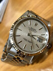 Rolex 36mm Oyster Perpetual Datejust  Stainless Steel & 18K White Gold 16234