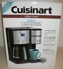 NIB CuisinartCoffee Center SS 15 12 Cup Coffeemaker and Single Serve Brewer