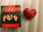Collectible 1992 Hallmark Heart Of Christmas Ornament Locket