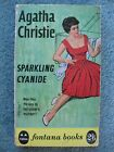 Sparkling Cyanide Agatha Christie Fontana paperback 1960 26 1st ed