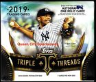 2019 Topps Triple Threads Baseball Factory Sealed Hobby Box