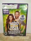 Xbox 360 Kinect Game the Biggest Loser ultimate workout rated E