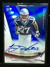 2013 Topps Platinum Football Rookie Autographs Short Prints and Guide 72