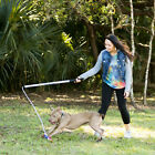 Flirt Pole V2 Dog Exercise  Training Toy with Lure Pit Bull Toy