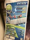 Intex 18 Ft X 9 Ft X 52 Inch Rectangular Pool Set Pick Up Only Preowned