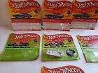 Lot of 7 Hot Wheels 1969 Empty Blister Cards w 1 Chaparral Button