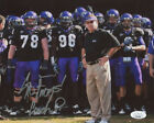 Gary Patterson Signed TCU Horned Frogs 8x10 Photo Inscribed