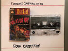 Vintage Meatloaf - I'd Lie For You (and That's The Truth)- Cassette Tape
