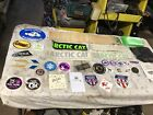LOT OF ARCTIC CAT Vintage Snowmobile Patches  Stickers Racing