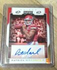 PATRICK MAHOMES 2017 PLAYOFF RC ROOKIE GOLD 1ST DOWN AUTOGRAPH SP AUTO #08 10