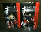 SIDESHOW BRUCE LEE FIGURES COMPLETE SET 8 NEW SEALED NICE OUT OF CASE