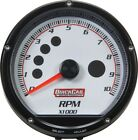 Quickcar Racing Products Redline Multi-recall Tach White 63-001