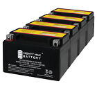 Mighty Max YTX7A BS Battery Replaces Lance 150CC Cali Havana Cabo 4 Pack