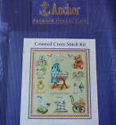 Anchor Premier Collection Counted Cross Stitch Kit Nostalgic Birth Sampler