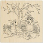 Costume Play HOUSE MOUSE Wood Mounted Stamp STAMPENDOUS New HMQ21