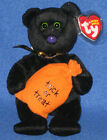TY TRICKSTER the HALLOWEEN BEAR BEANIE BABY - MINT TAG - PLEASE READ