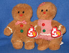 TY HANSEL and GRETEL BEANIE BABY SET - MINT with MINT TAGS