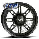 ITP SS216 Wheel 12x7 4/115 Matte Black 5+2 Arctic Cat 550 H1 EFI Le (2009-2010)