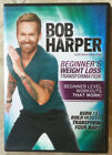 Bob Harper DVD Beginners Weight Loss Transformation Beginner MINT Ship Tomor
