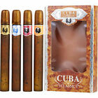 Cuba Variety 4 Piece Variety With Cuba Gold, Blue, Red and Orange and All Are Ed