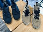 2 Pairs Creative Recreation Mens Casual Shoes High Top Sneakers Shoes sz12