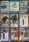 (25) Autos (20) Patches (59) Numbered Footbal Cards Murray Lock Deebo Chubb