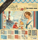 Deluxe Collectors Edition By The Sea Collection Scrapbooking Kit Graphic 45 New