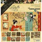 Deluxe Collectors Edition Bird Song Collection Scrapbooking Kit Graphic 45 New