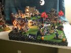 Halloween Village Display Platform For Lemax Spooky Town Dept56 Collection