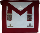 Highest Quality Masonic Stewards Past Master Apron  Lambskin  LR314