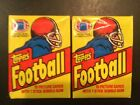 Lot(2) 1981 Topps Football Unopened Wax Pack 15 cards per pack Montana Payton?