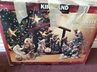 Kirkland Signature 13 Pc Porcelain Nativity Set Hand Painted 75177