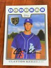 Clayton Kershaw Rookie Cards and Autograph Memorabilia Guide 27
