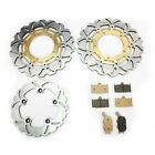 Front Rear Brake Rotors Discs Pads GSF 1250 / S Bandit GSF650 GSX 1250 FA / ABS