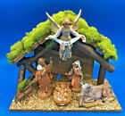 Fontanini by Roman Inc 5 Piece Nativity Set with Lighted Creche 5 Scale Figures