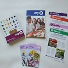 WW Weight Watchers program book 6 trackers1 Dining Out Shopping book4 weeklys