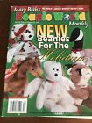 MaryBeth's Beanie World Monthly Collector's Ed No 10, Vol 2 No 3 December 1998
