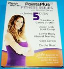 WEIGHT WATCHERS POINTS PLUS FITNESS SERIES 5 DVD SET POINTSPLUS