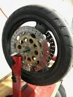 DUCATI SUPERSPORT 900 1992 OEM FRONT WHEEL RIM with BRAKE ROTORS DISC
