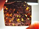 GREAT DEAL AMAZING CRYSTALS SENSATIONAL SEYMCHAN PALLASITE METEORITE 104 GMS