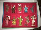 VINTAGE COMMODORE ITALIAN CHRISTMAS NATIVITY SET ORIGINAL BOX Figures