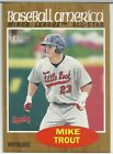 Mike Trout 2011 Topps Heritage Baseball America Minor League All-Star RC SP