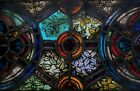 GOTHIC FIRED STAINED GLASS CHURCH WINDOW BALTIMORE MD AREA 1900