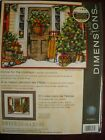 Dimensions Cross Stitch Kit #70-08961 Home for the Holidays Christmas tree sled