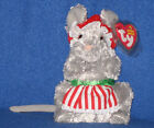 TY JANGLEMOUSE the CHRISTMAS MOUSE BEANIE BABY - MINT with MINT TAG