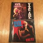 Billy Idol LOT Rebel Yell & Vital Idol generation x steve stevens flesh for lulu