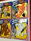 Mego Action Jackson Outfit LOT of 4 Air Force Scuba Western Ski Patrol MIB 1971