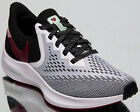 Nike Zoom Winflo 6 Womens White Noble Red Black Running Shoes Sport Sneakers