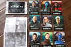 2014 CARLS JR MARVEL X-MEN DAYS OF FUTURE PAST MOVIE 9 CARD COMPLETE PROMO SET
